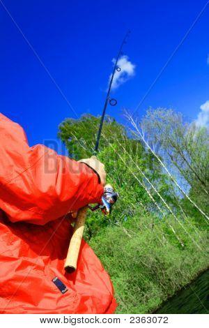 Spring Fishing In Swedish Lakes