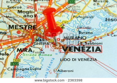 Venica On The Map