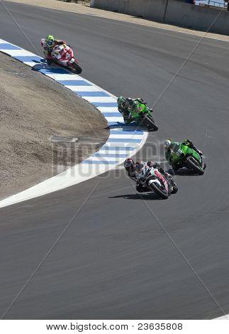 Motorcycle Grand Prix in Laguna Seca, California