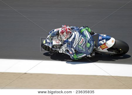 Marco Melandri Moto GP Laguna Seca, California 2007