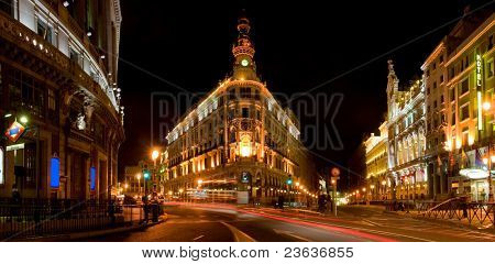 Downtown Madrid