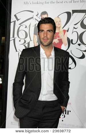 LOS ANGELES - SEP 19:  Zachary Quinto arriving at the