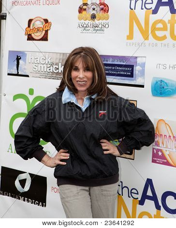 TARZANA, CA - APRIL 18: Kate Linder arrives at the 8th annual