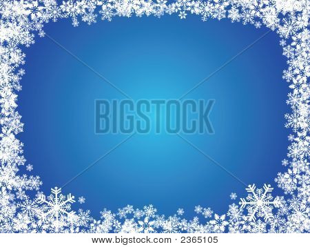 Snowflake X-Mas Background