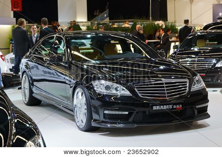 FRANKFURT - SEP 17: Mercedes Brabus B63 car shown at the 64th Internationale Automobil Ausstellung (IAA) on September 17, 2011 in Frankfurt, Germany.