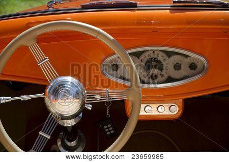 Street Rod Cockpit