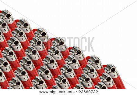 Lighters In A Row