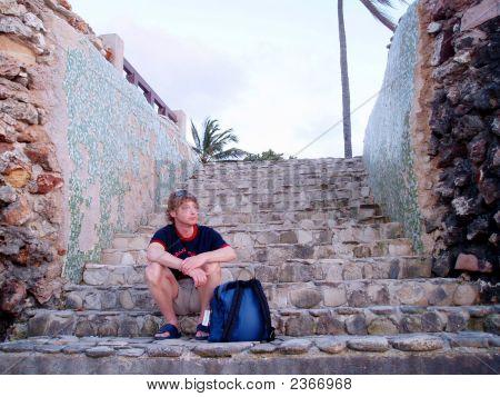 Man In Cuba