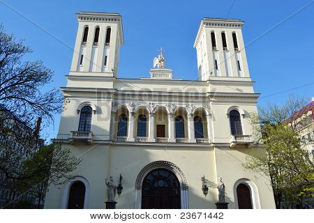 Lutheran Church of Saint Piter in St.Petersburg