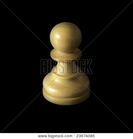 Chess Pawn on Shadows