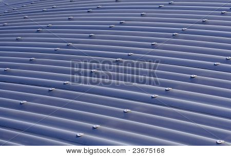Blue Corrugated Metal Roof