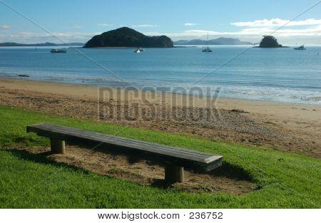 Bench At Seaside1