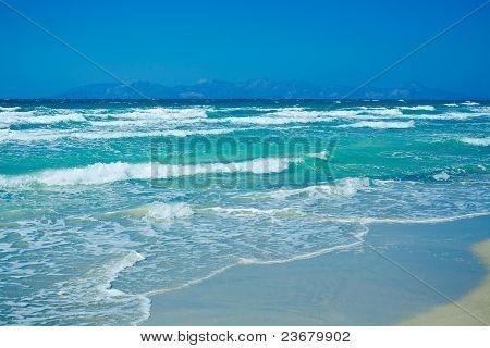 Waves On The Aegean Sea