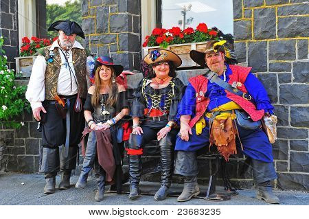 Portland OR Pirates Festival Motley Crew