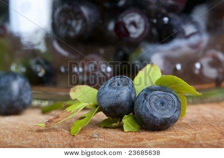 Fresh bilberry