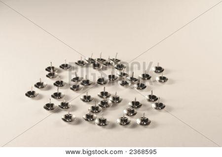 Silvered Pins