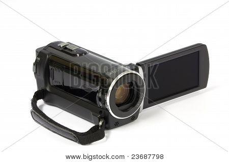 Kleine tragbare Videokamera