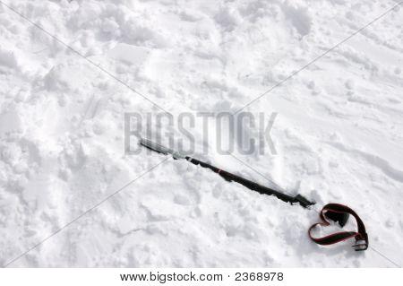 Broken Ski Pole