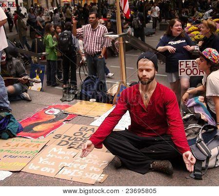 Meditating On Wall Street
