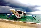 picture of olongapo  - A beautiful beach scene in Puerto Galera in The philippines - JPG
