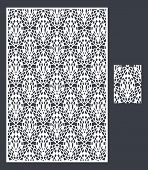 The Template Pattern For Decorative Panel7 poster