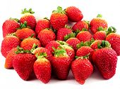 picture of naturist  - fresh strawberries - JPG