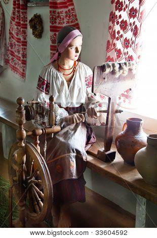Ukrainian Girl Waxwork