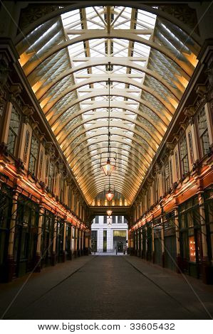 Leadenhall Market Shopping Arcade London