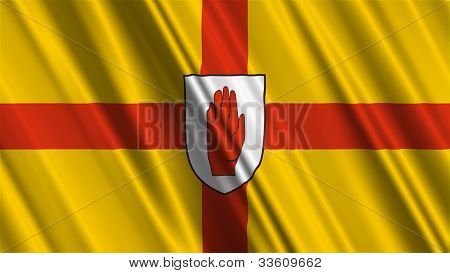 Ulster 9 Province Northern Ireland Flag
