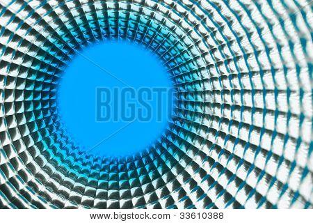 Round Blue Point Background