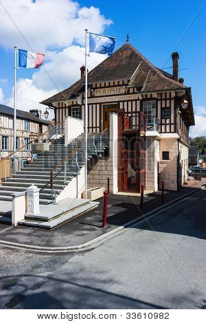 The Mairie At Broglie, France