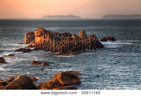 Sunset In Brittany