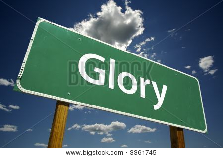 Glory Road Sign