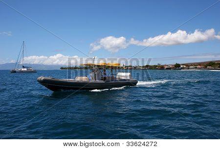 Boats on Ocean