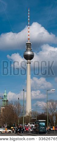 The television tower of Berlin