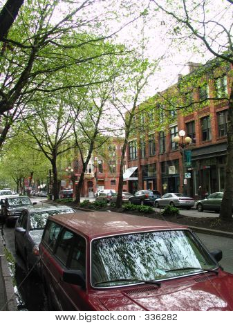 Pioneer Square Street Scene