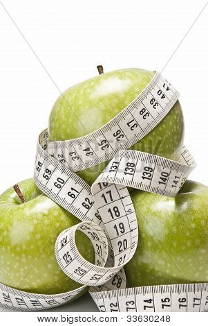 Centimeters And Apples.