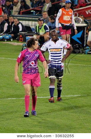 Rugby Siya Kolisi Stormers Zane Kirchner Bulls South Africa 2012