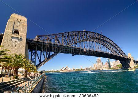 Sydney Harbour Skyline