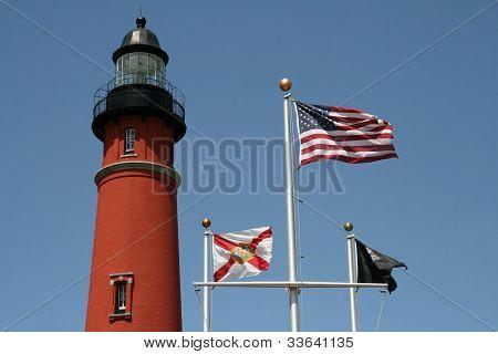 Historic Ponce De Leon lighthouse