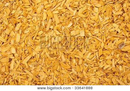 Yellow Woodchips