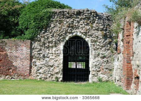 Ninth Century Abbey Gatehouse
