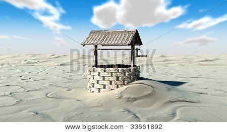 Well In A Desert