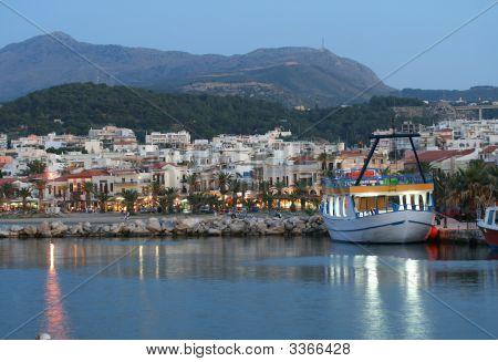 Rethymnon Harbor