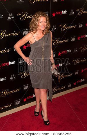 BEVERLY HILLS, CA - MAY 21: Sarah Colonna arrives at the 2012 Gracie Awards Gala on May 21st 2012 at the Beverly Hills Hilton in Beverly Hills.