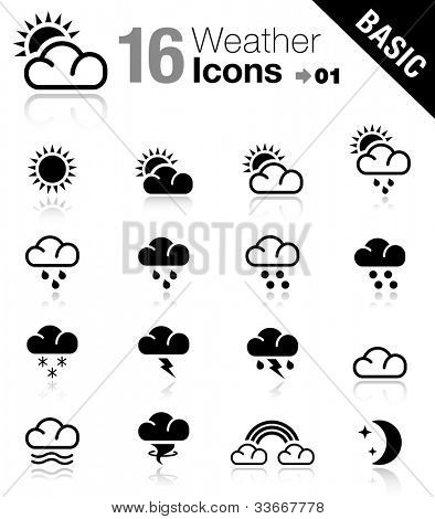 Basic - Weather icons