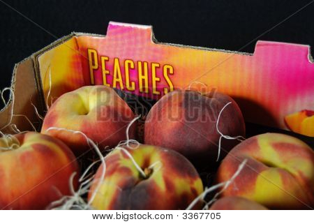 Peaches In Box