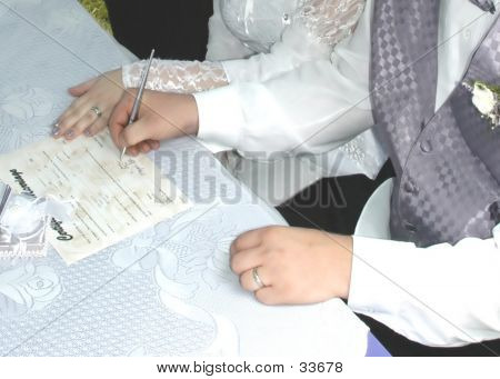Signing Papers