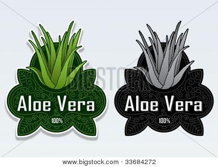 Aloe Vera Seal / Sticker
