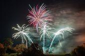 Sherborne Fireworks poster